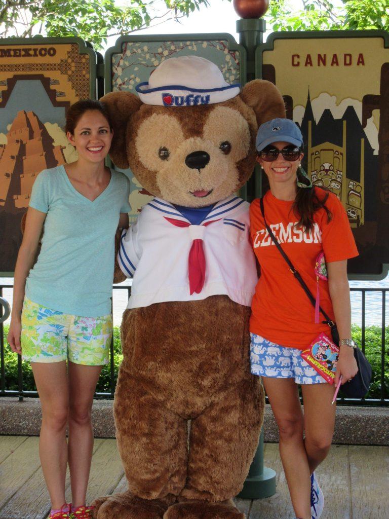Duffy Meet & Greet Epcot