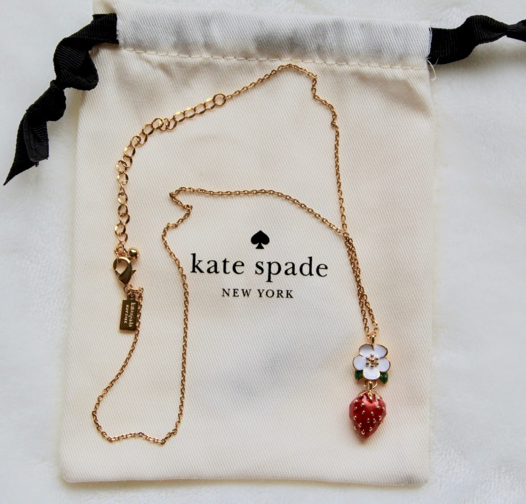 Kate Spade Picnic Perfect Strawberry Mini Pendant