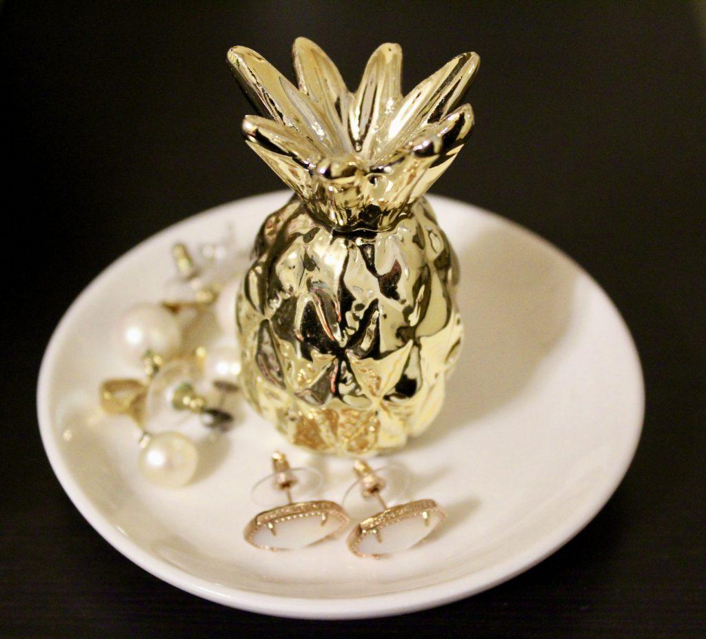 Lauren Conrad Pineapple Trinket Tray