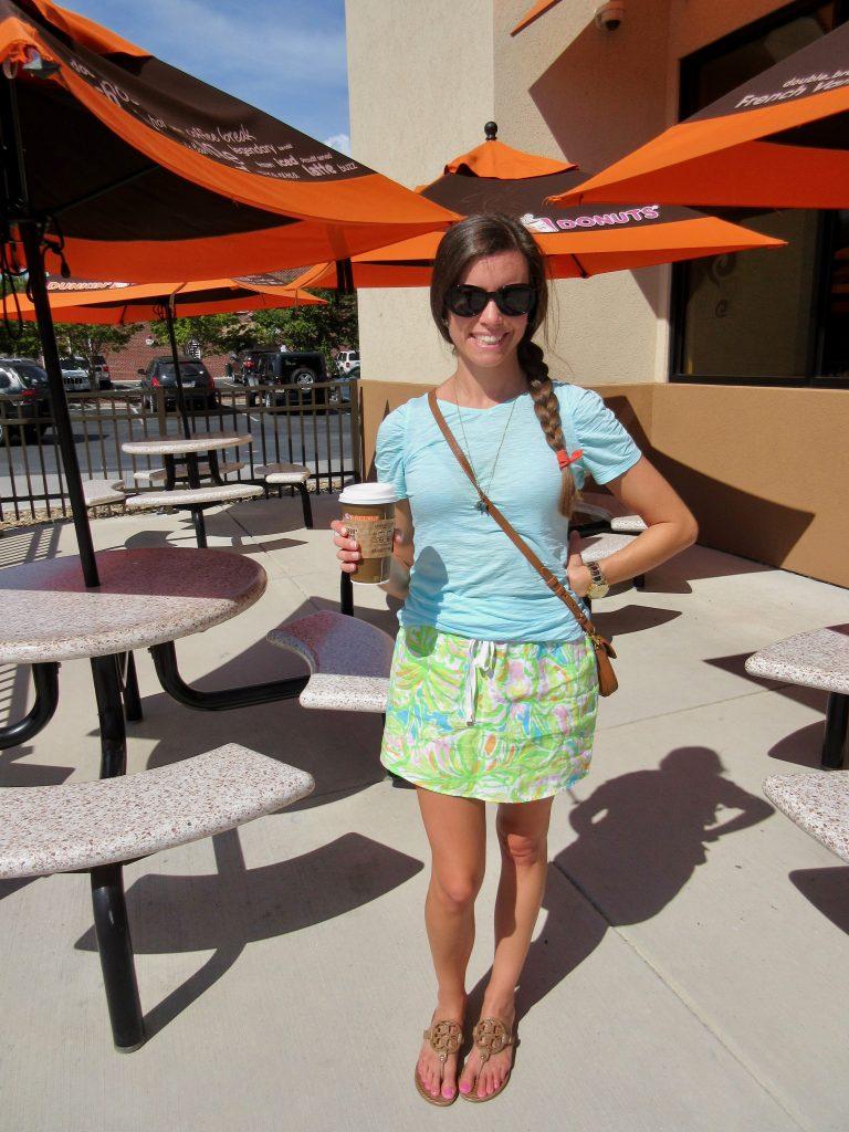 Lilly Pulitzer Elephant Ears Beach Skirt