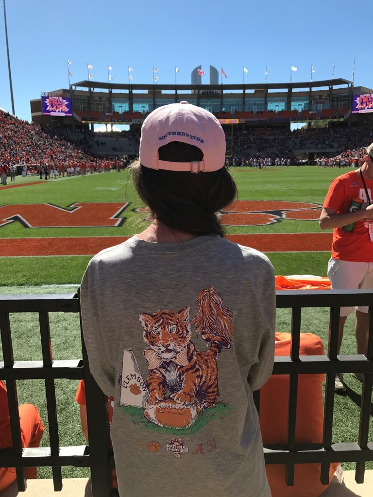Lauren James Clemson Long Sleeve Tee
