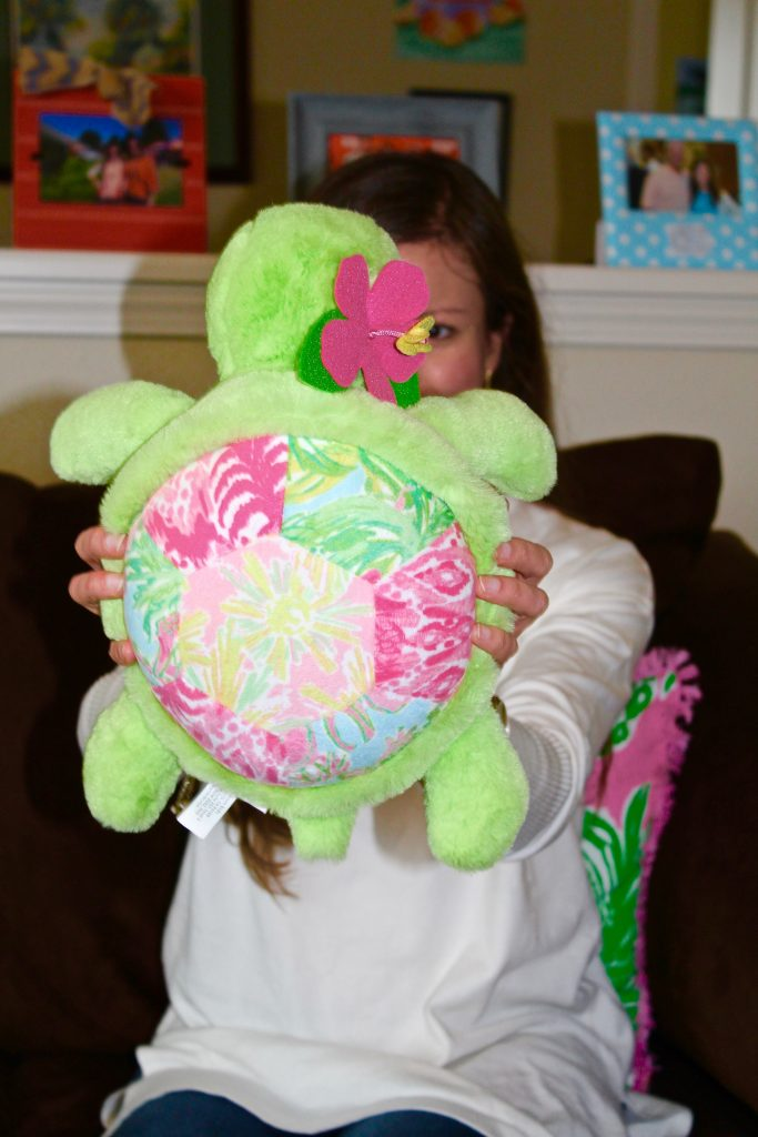 Lilly Pulitzer for Pottery Barn Plush Turtle