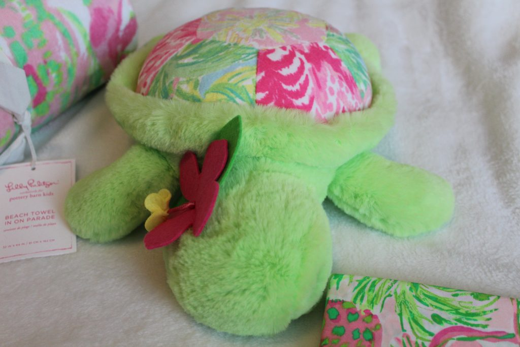 Lilly for Pottery Barn Plush Turtle