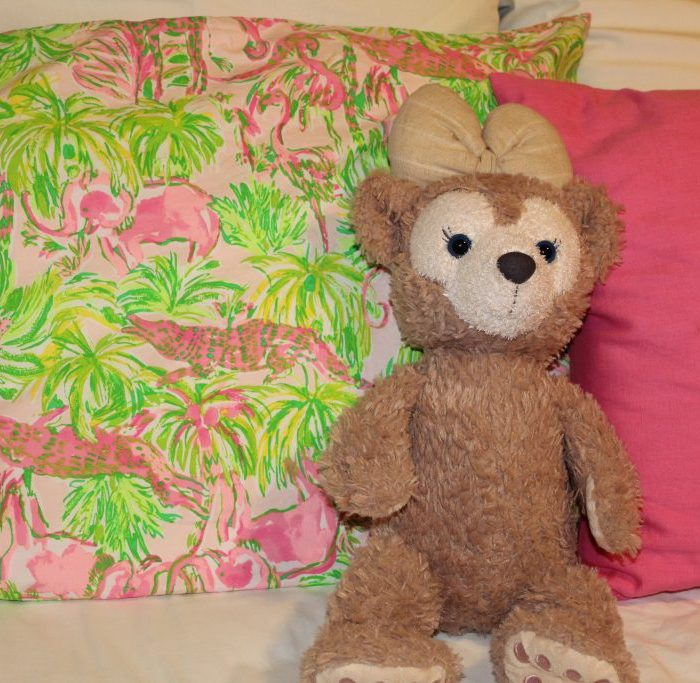 Lilly for Pottery Barn pillowcase