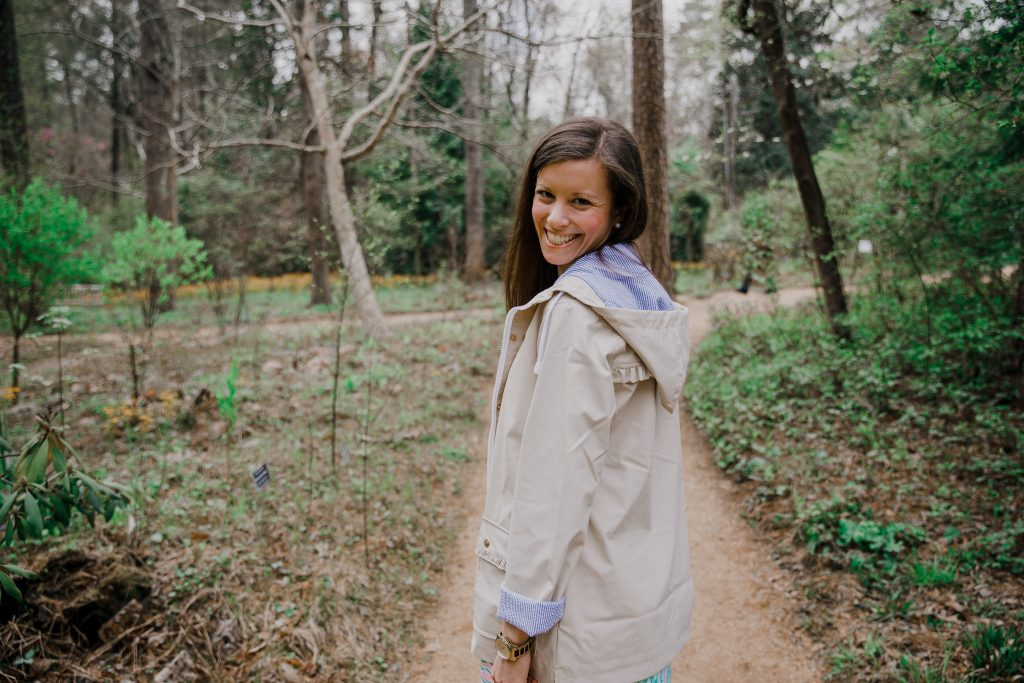 Lauren James Dottie Ruffle Raincoat