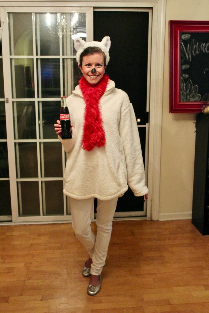 Coca-Cola Polar Bear Halloween Costume