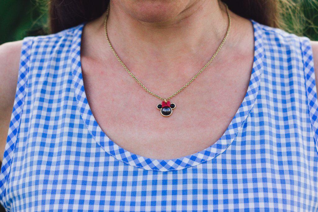 Kate Spade Minnie Mouse necklace sale