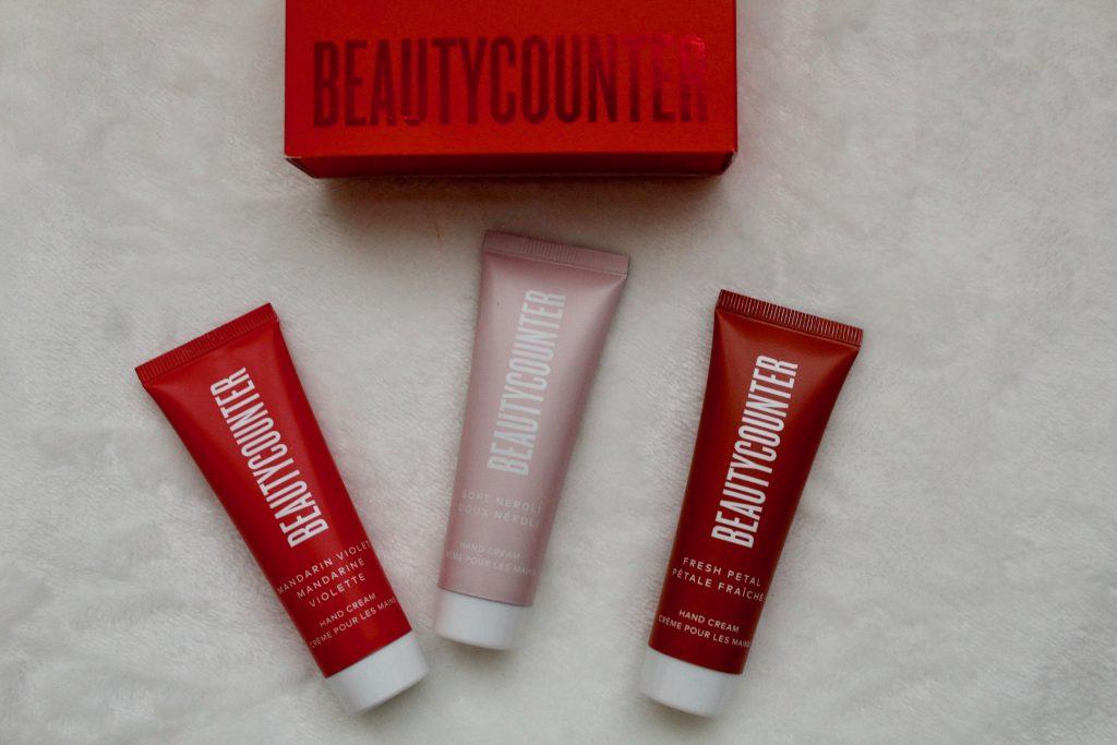 Beautycounter Holiday Hand Cream Trio