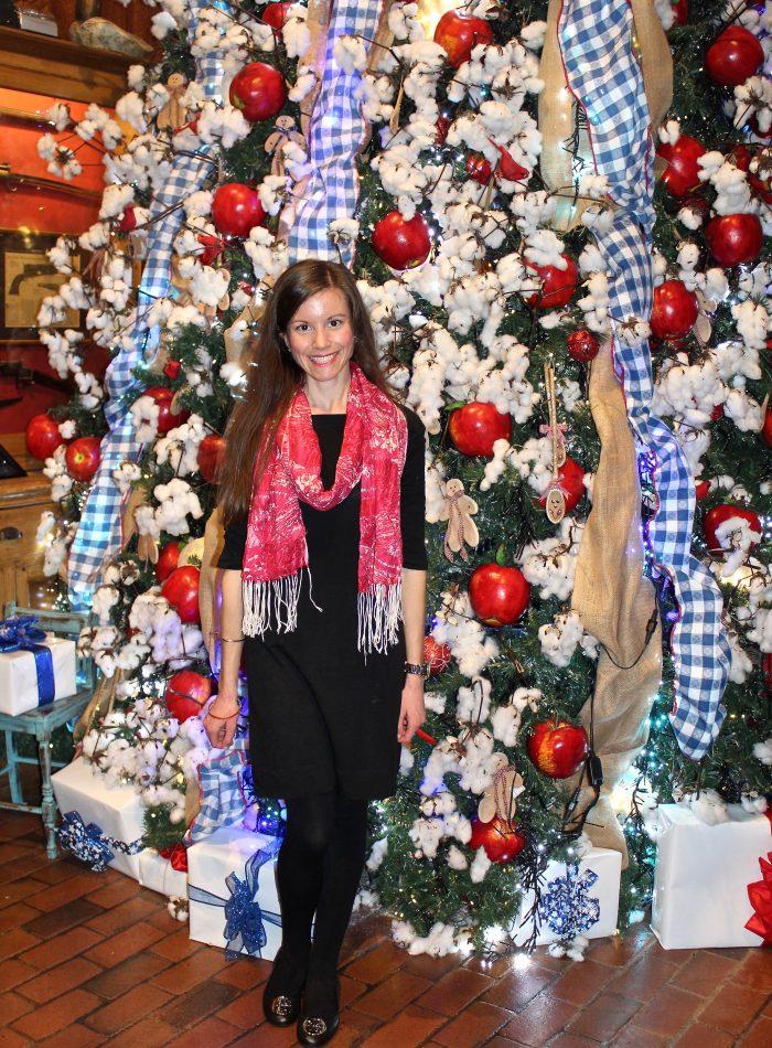 Angus Barn Christmas Tree