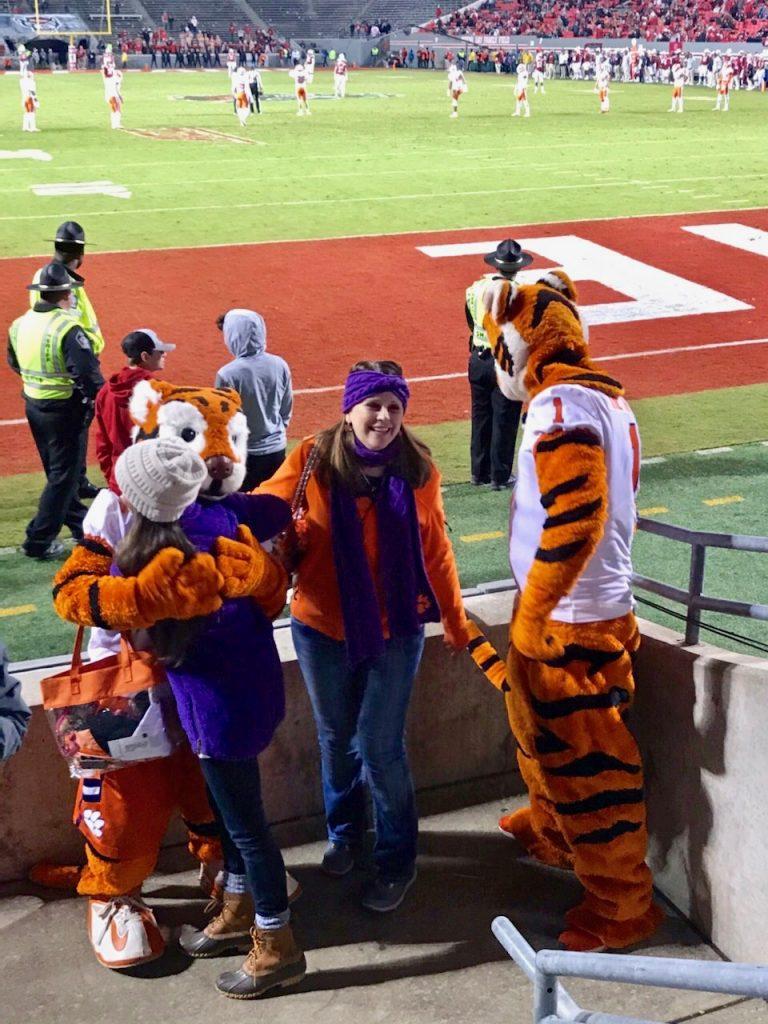 Clemson Tiger Cub Hugs