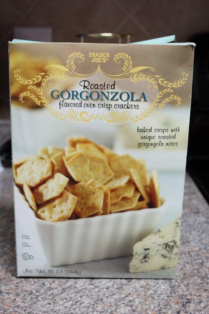 Trader Joe's Roasted Gorgonzola Crackers