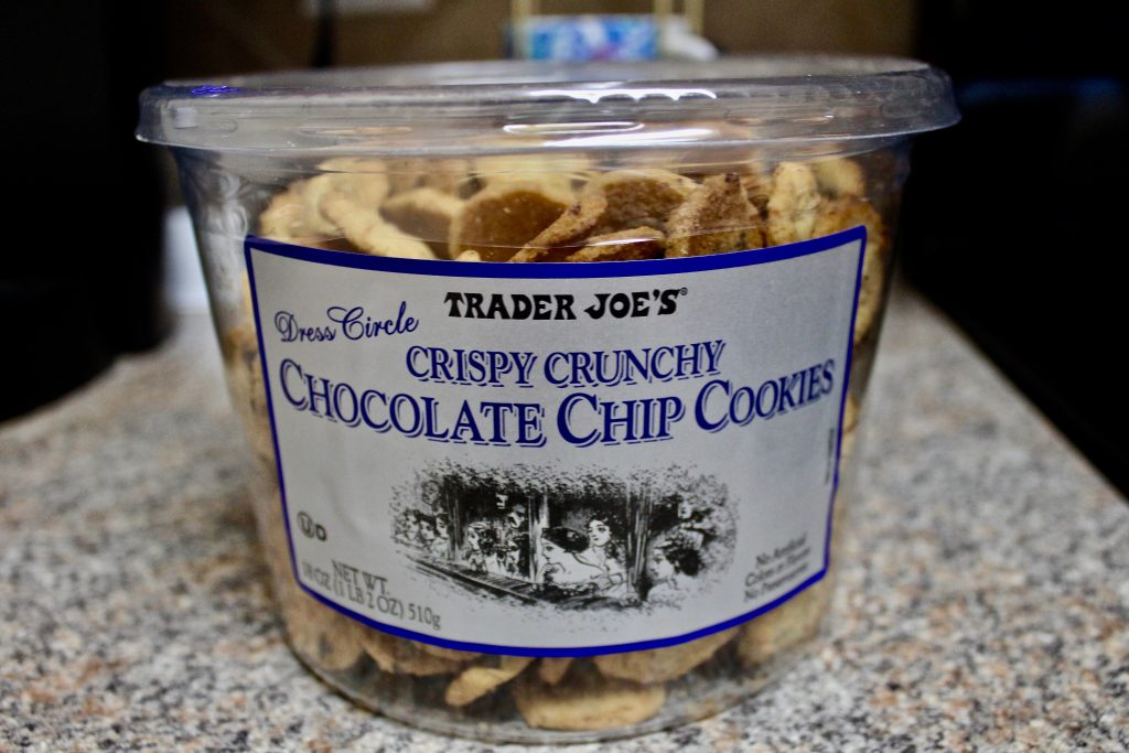 Trader Joe's Crispy Crunchy Chocolate Chip Cookies