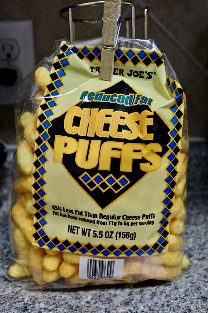 Trader Joe's Reduced Fat Cheese Puffs