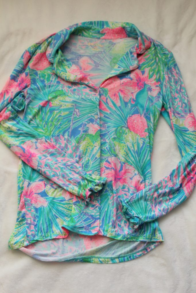 Lilly Pulitzer pajama top