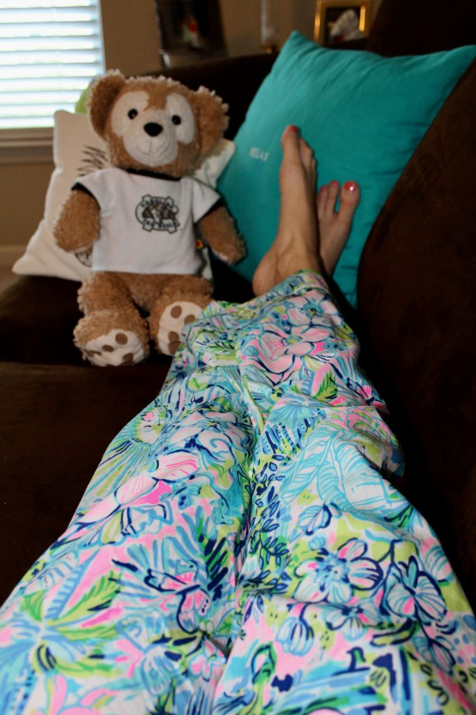 Lilly Pulitzer Lilly's House pajama pants