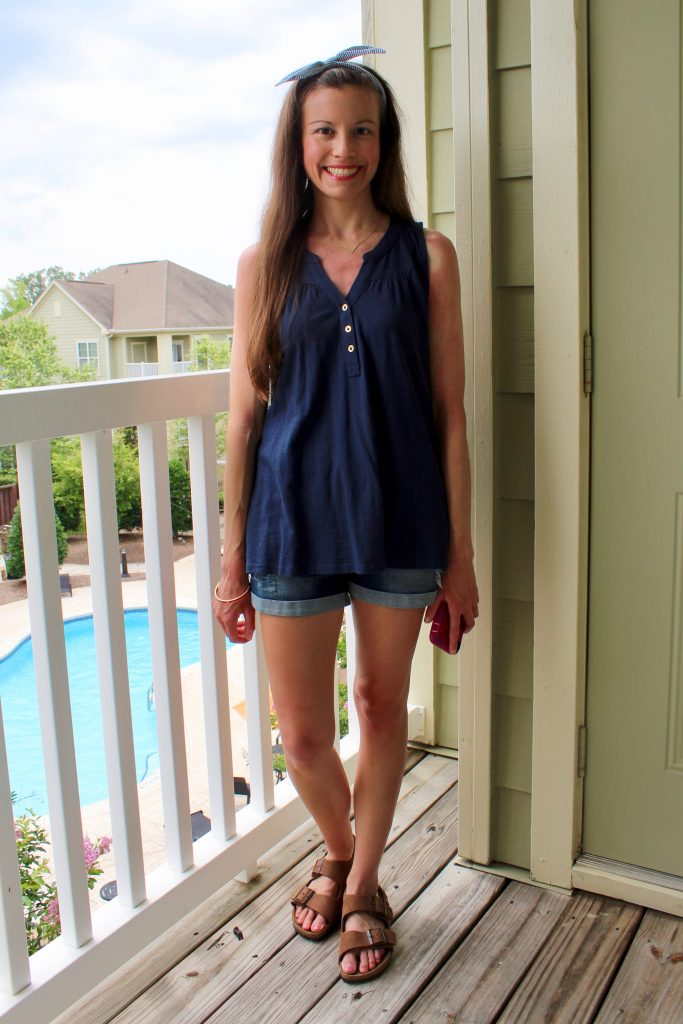 Navy Summer Outfit
