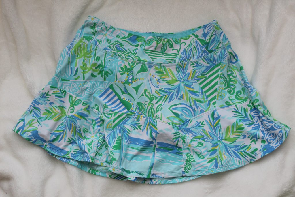 How to Style an Athletic Skirt: Lilly Pulitzer Luxletic