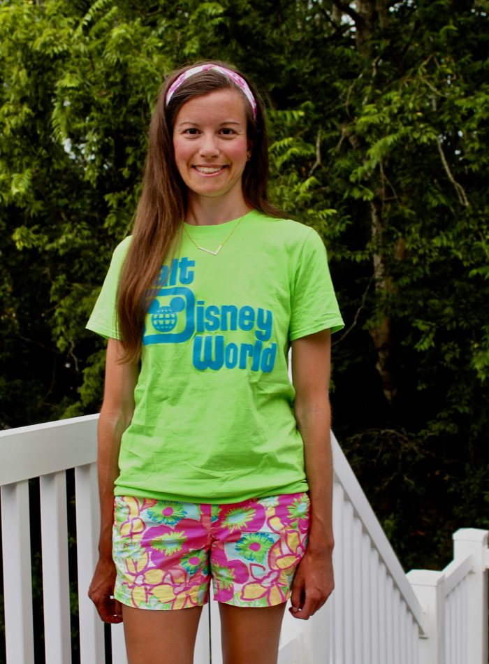 Lilly Pulitzer Callahan Shorts with Graphic Tee
