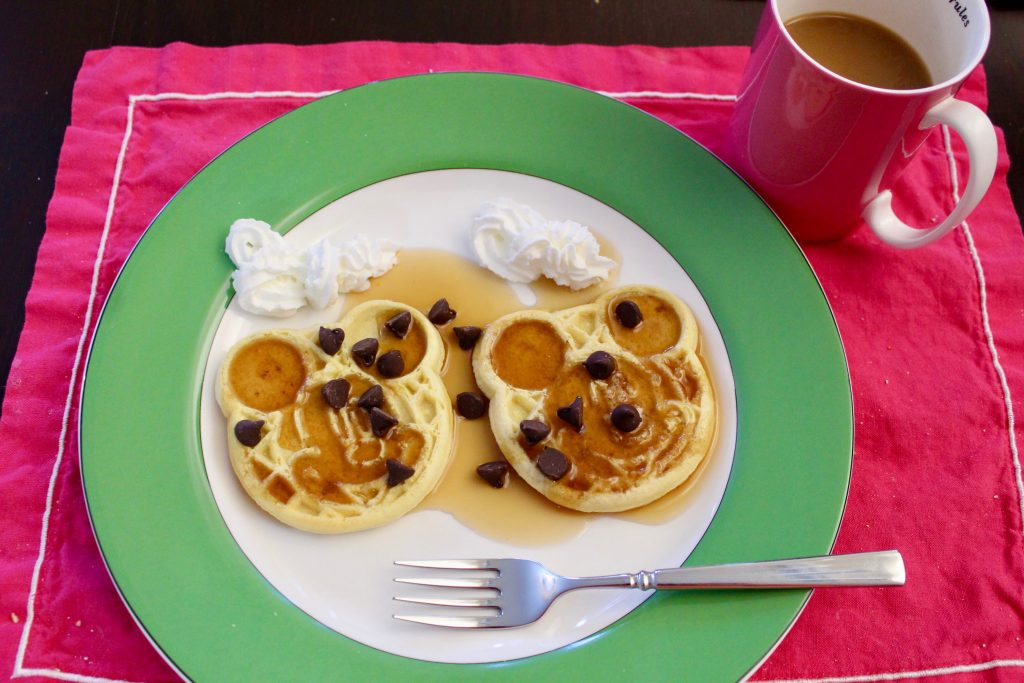 Eggo Mickey Waffles