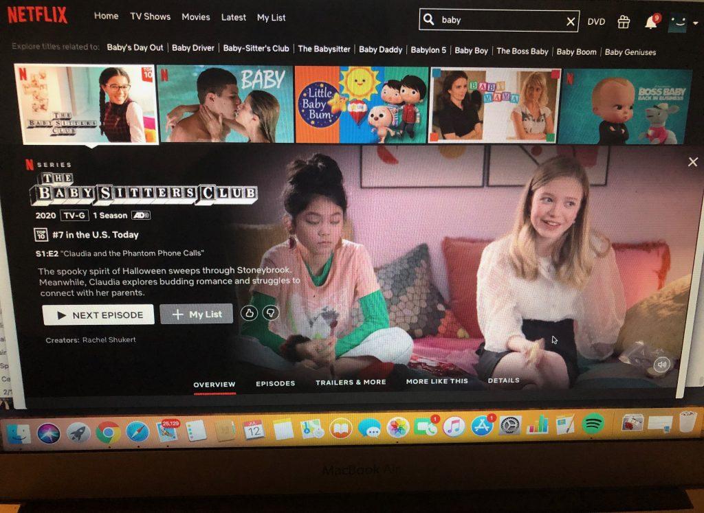 Babysitters Club Netflix Series
