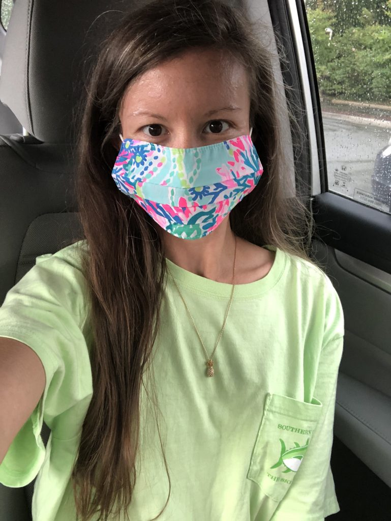 Lilly Pulitzer Face Mask