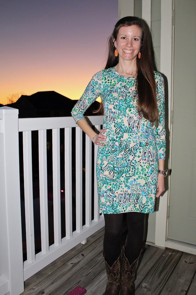Long-Sleeved Lilly Pulitzer Dress