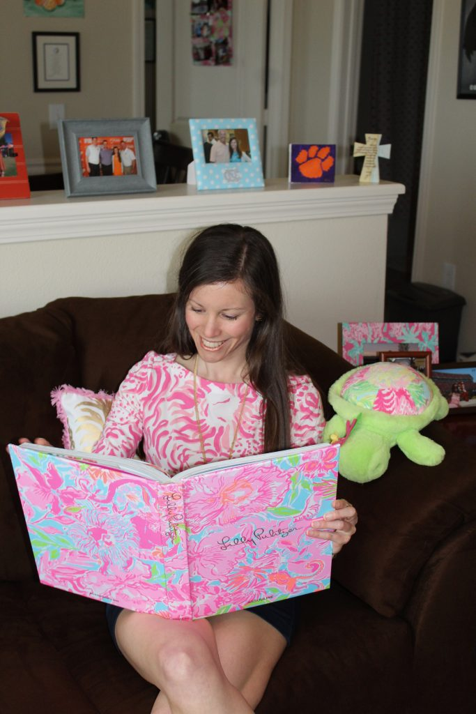 Lilly Pulitzer Coffee Table Book