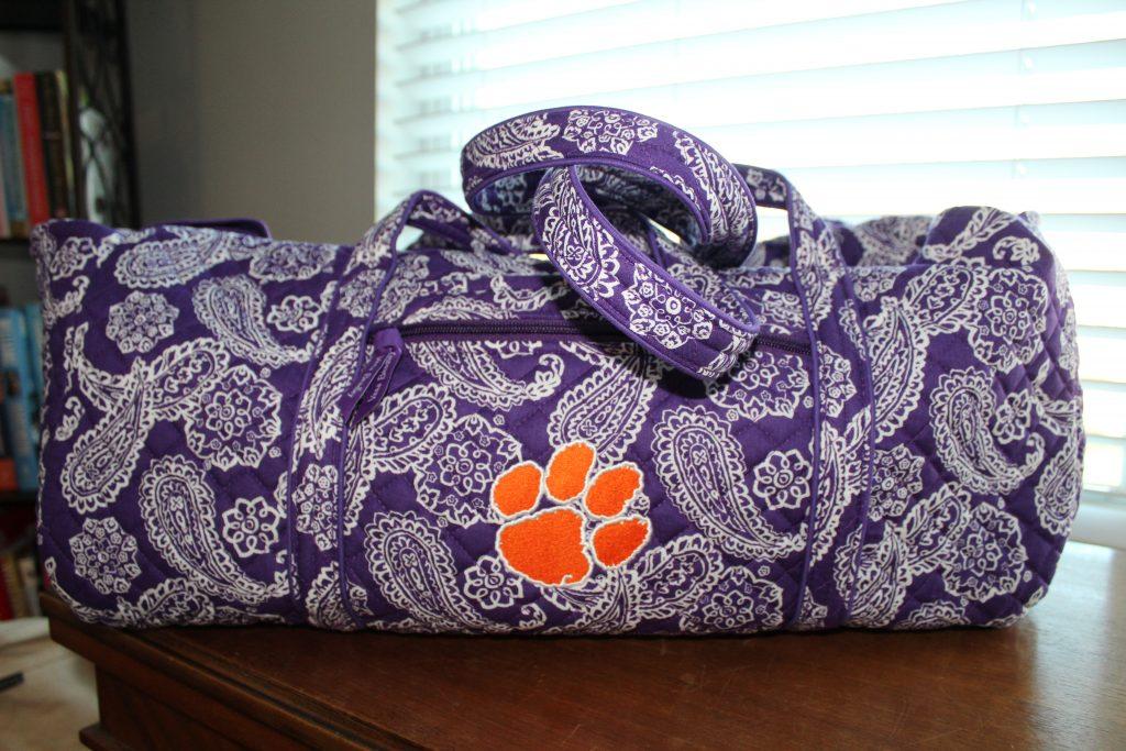 Vera Bradley Duffel Bag Collegiate Collection