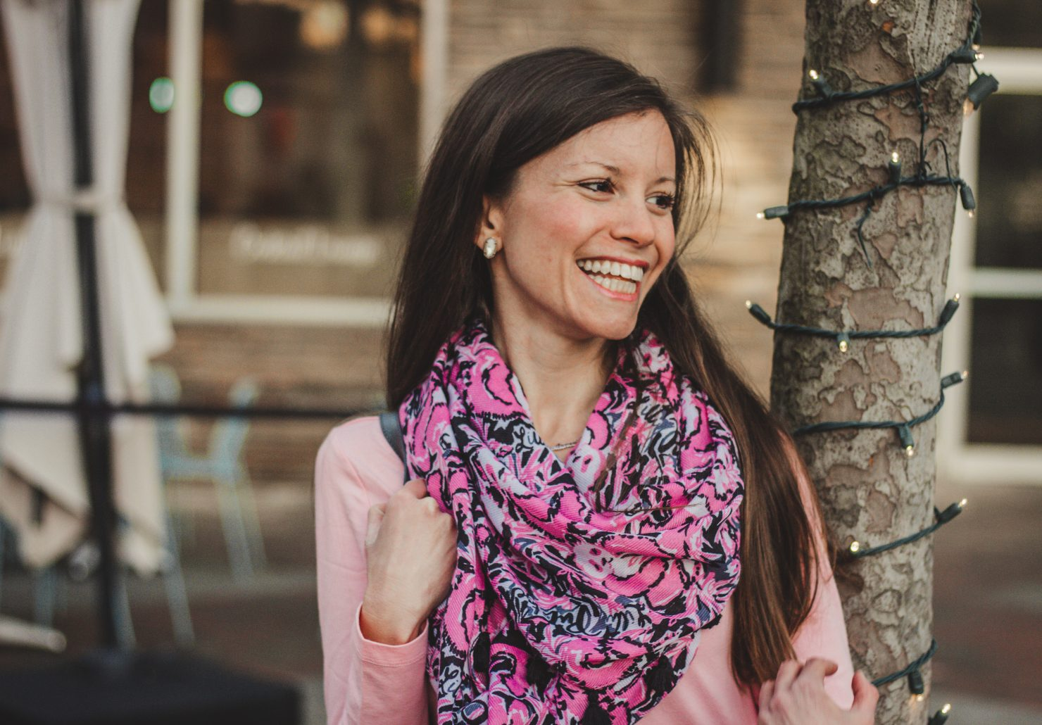 Styling a Lilly Pulitzer Scarf