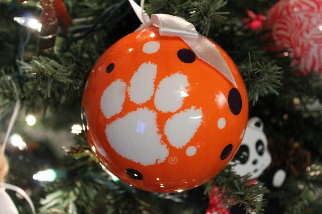 Clemson Ornament
