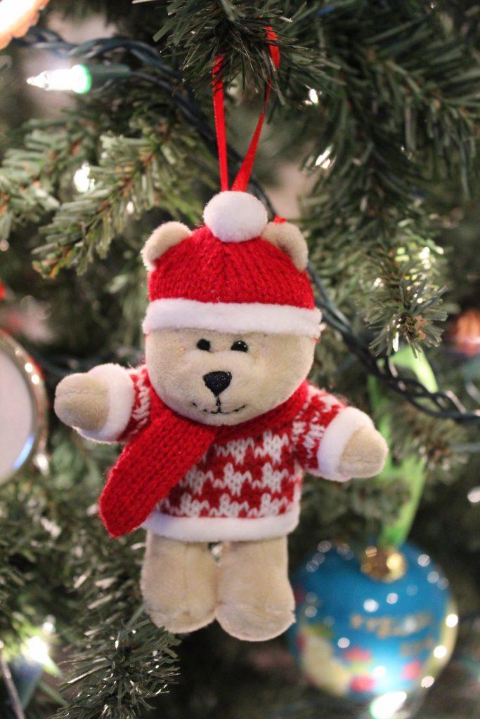 Starbucks Bear Ornament