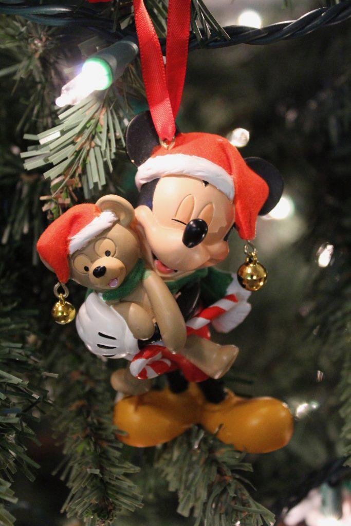Mickey & Duffy Christmas Ornament