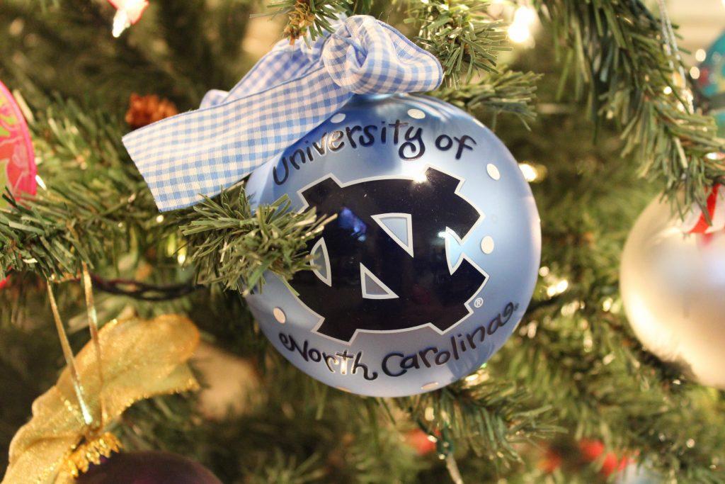 UNC ornament
