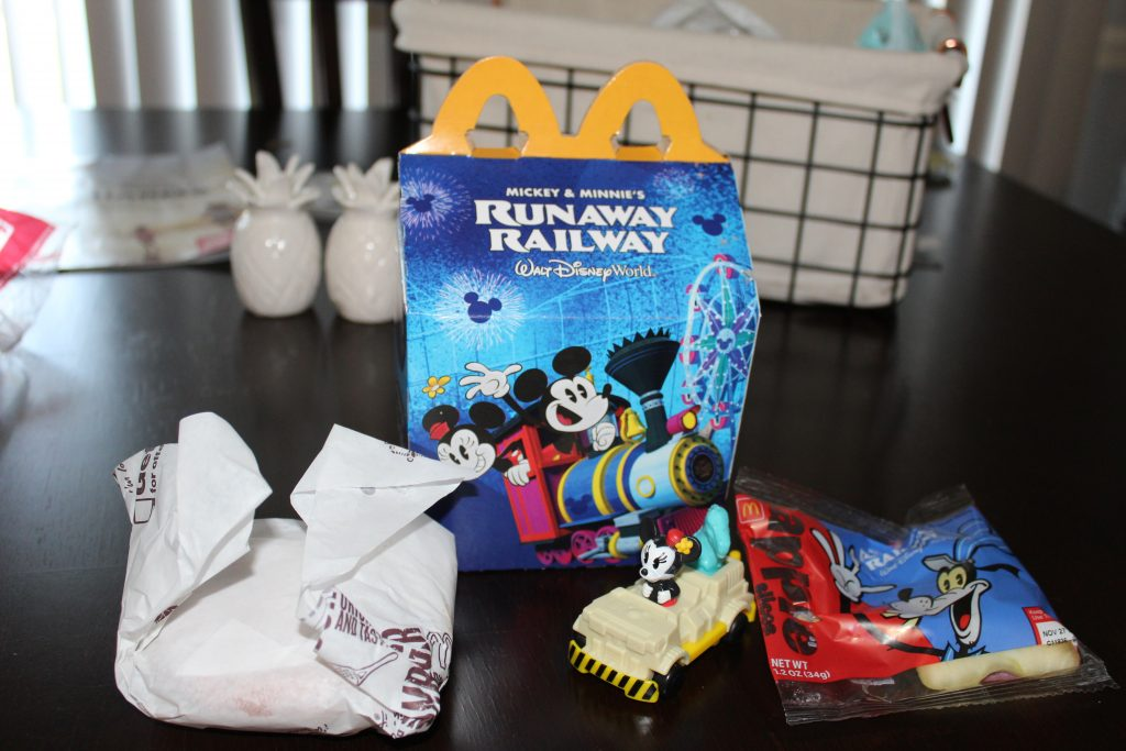 Mickey's Runaway Railroad McDonald's Happy Meal