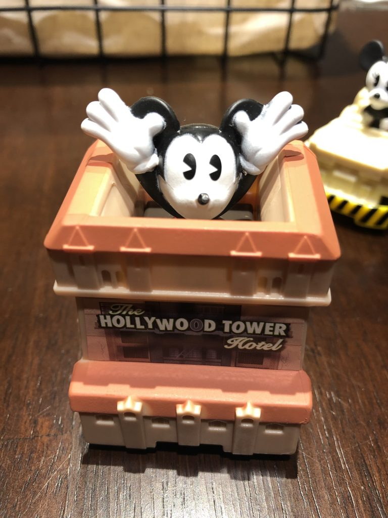 Mickey Mouse Tower of Terror McDonald's Happy Meal Toys