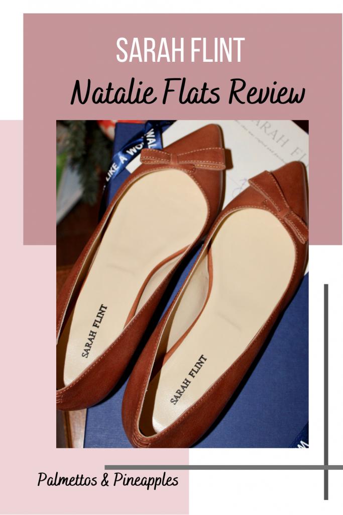 Sarah Flint Natalie Flats Review Pinterest Image