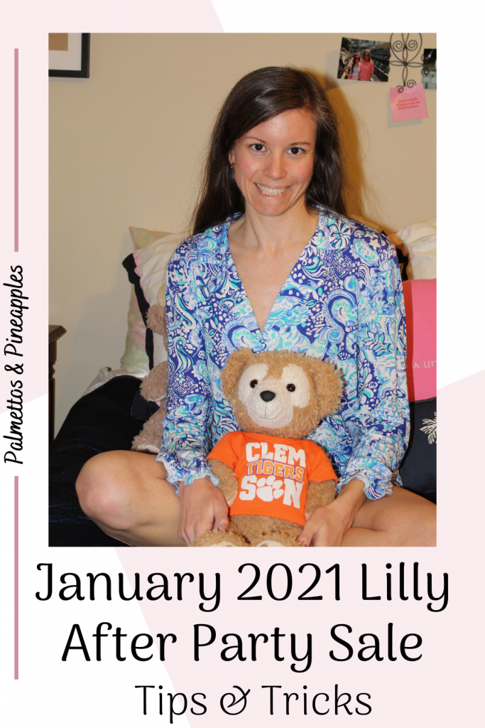 January 2021 Lilly After Party Sale