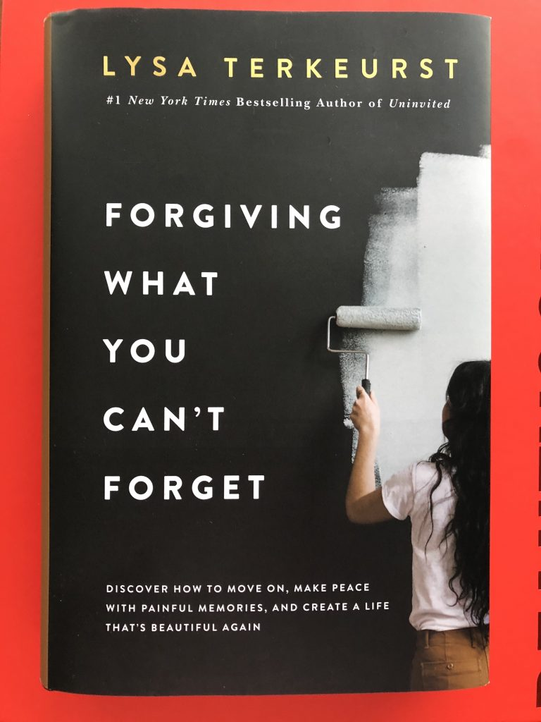 One of my goals for 2021 is to let got of grudges. Plan to read Forgiving What You Can't Forget by Lysa Terkeurst to help.