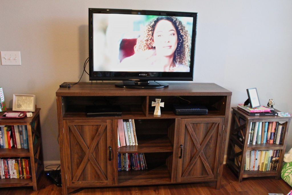 Wayfair TV Stand with extra storage space