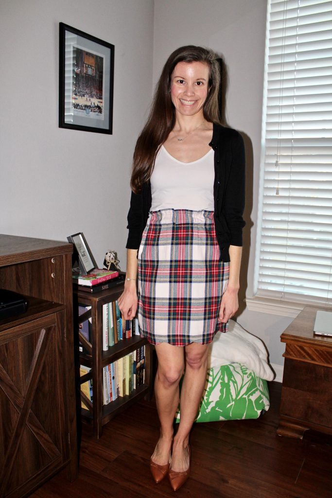 Gossip Girl Blair Waldorf Outfit Inspo featuring plaid skirt