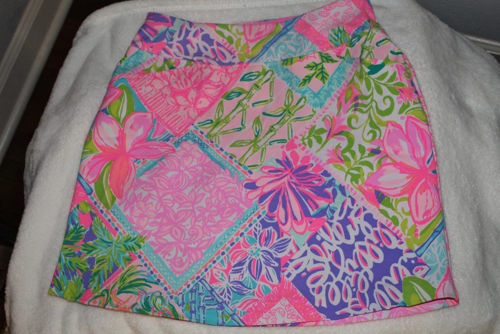 Lilly Luxletic Skort from Lilly Pulitzer After Party Sale Haul January 2021