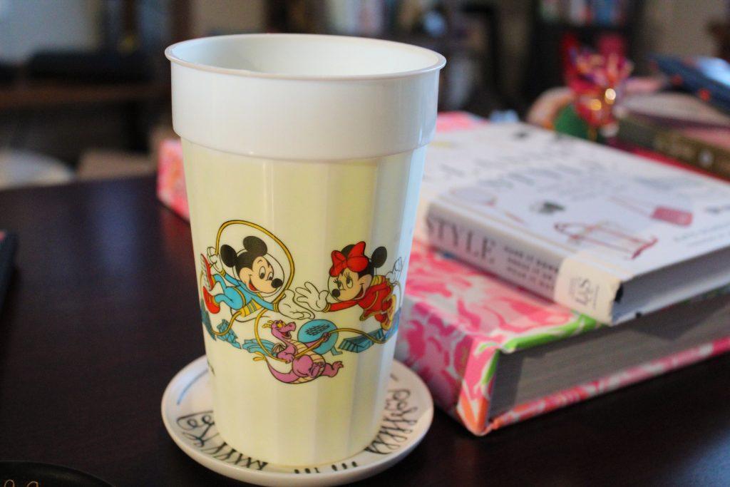 Vintage Epcot Souvenir Cup