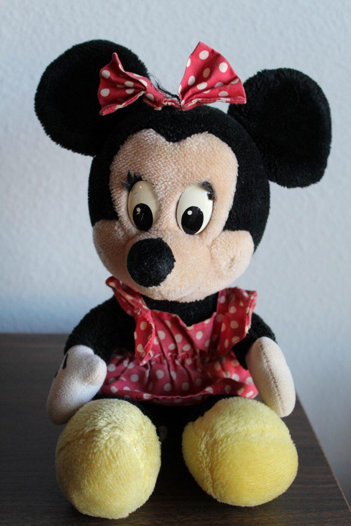 Vintage Disney Items: 1993 Plush Minnie Mouse Walt Disney World