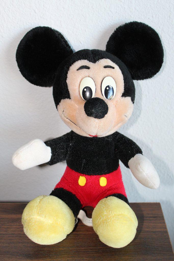 Vintage Disney World Item-1989 Mickey Mouse Plush