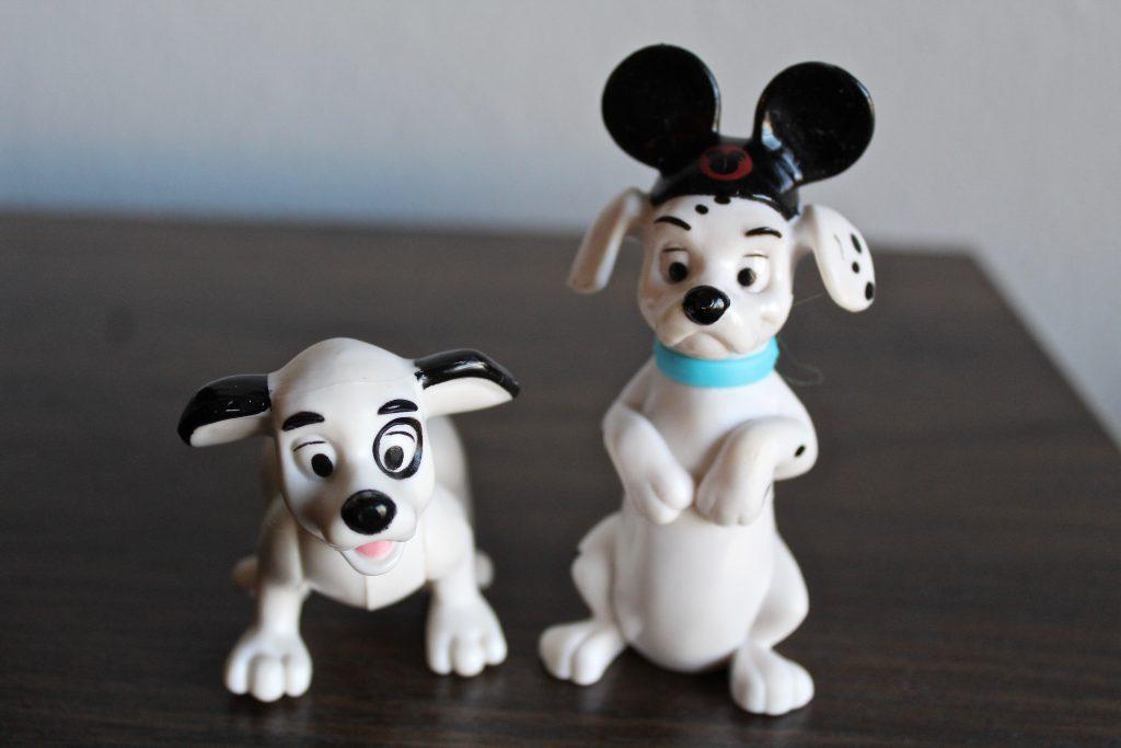Vintage Disney McDonald's Happy Meal Toys. 101 Dalmatians McDonald's Happy Meal Toys