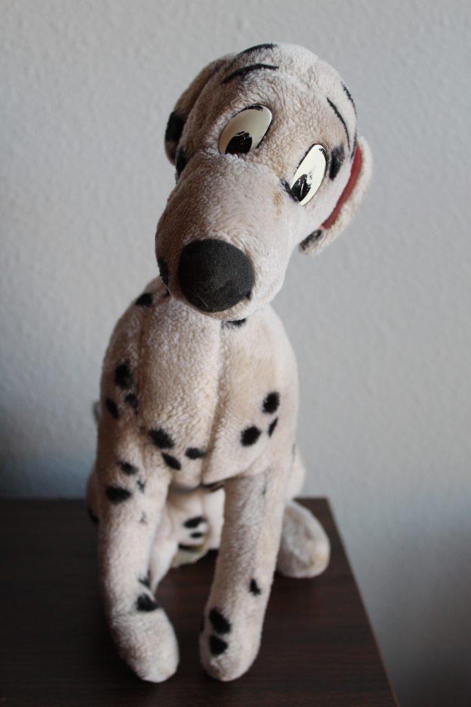 Vintage Disney Toys: 1992 Plush Perdita from Disney World