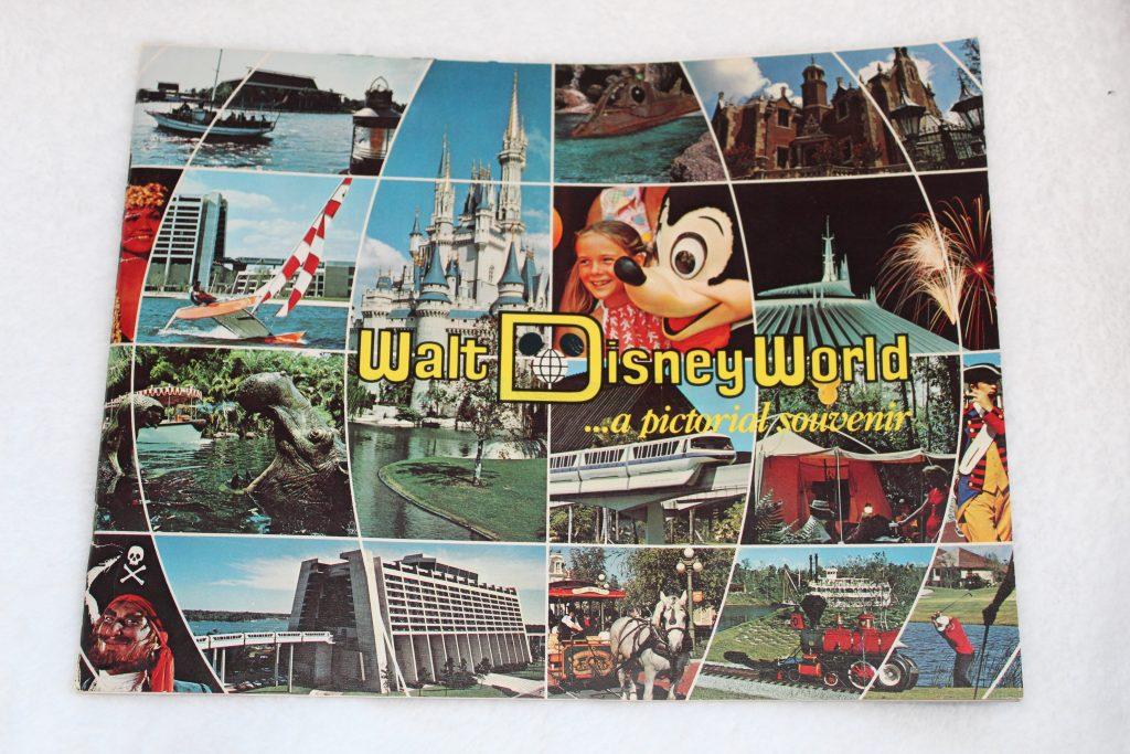 Vintage Disney World Memorabilia: Pictorial Souvenir Book