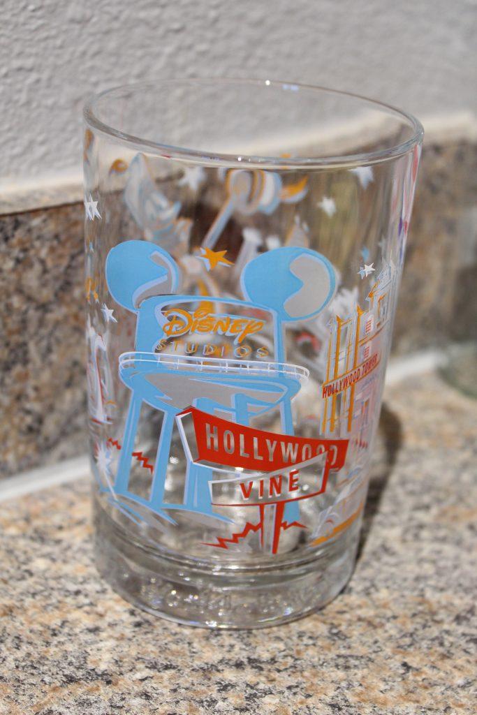 Vintage Disney MGM Studios Glass from McDonald's for Disney World 25th Anniversary