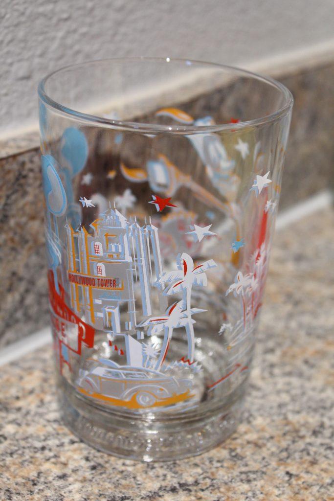 Disney World 25th Anniversary Commemorative Glass from McDonald's