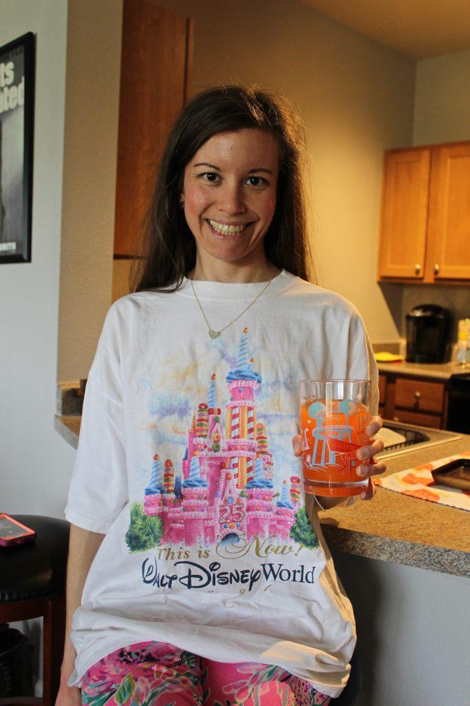 Vintage Disney clothing. Disney World 25th Anniversary .